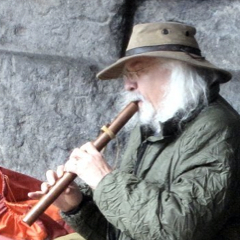 Steve with Flute